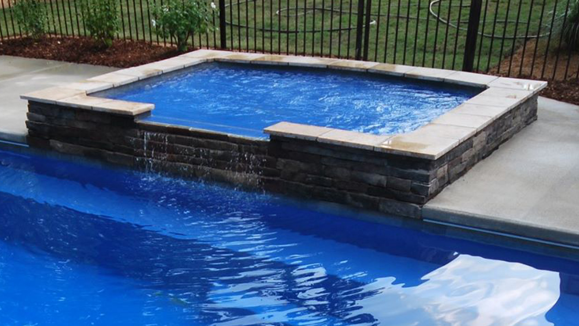 Family leisure little rock arkansas - Leisure Pools Designers Created This Ledge To Have Both A Curved Side And A Straight Side So That It Would Complement Almost Any Style Pool Within The